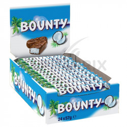 Bounty lait 57g en stock