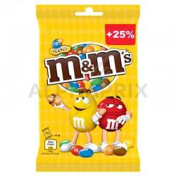 M&M's jaune peanut sachet 125g en stock