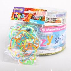 Bracelets form's à echanger 100% silicone tubo x3 en stock