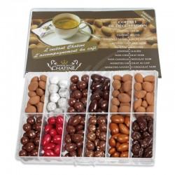 Coffret dégustation 12 variétés 800g en stock