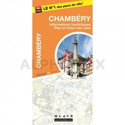 Carte agglomeration chambery en stock