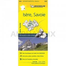Carte Départementale Isère Savoie en stock
