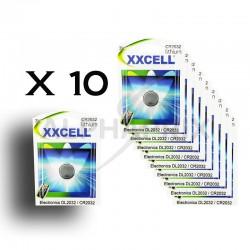 Pile lithium XXCell cr2032 blister de 1 en stock