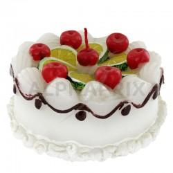 Bougie anniversaire forme Gâteau en stock