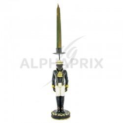 Figurine coloniale bougeoir h: 49cm en stock