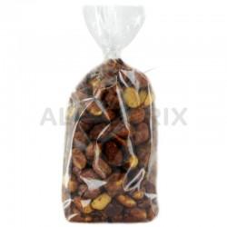 """Cacahuètes grillées et caramélisées sac 250g """"Chouchous"""" en stock"""