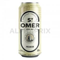 St Omer 5° Premium boîte 50 cl en 6 packs de 4 en stock