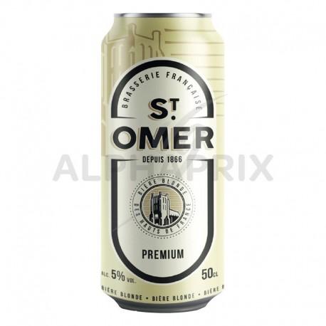 St Omer 5° Premium boîte 50 cl en 6 packs de 4