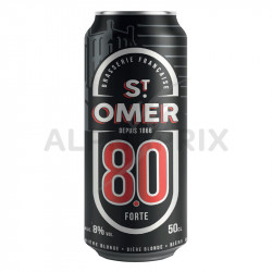 St Omer forte 8° boîte 50 cl (en 6 packs de 4) en stock