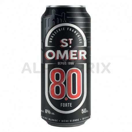 St Omer forte 8° boîte 50 cl (en 6 packs de 4)