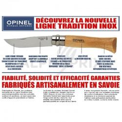 Opinel n°6 lame inox en stock