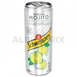 Schweppes Virgin mojito boîte 33 cl (4 packs de 6) en stock