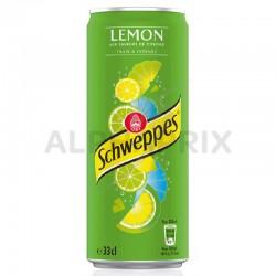 Schweppes lemon boîte 33 cl en stock
