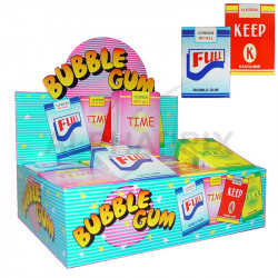 Sticks chewing gum en stock