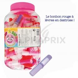 Rouge à lèvres bonbons sucettes en stock