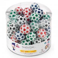 Ballons de Football en chocolat 12g en stock