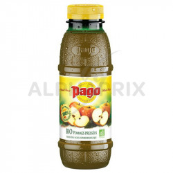 Pago pomme bio pressee 100% pur jus Pet 33cl