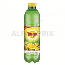 ~Pago orange pulpee 100% jus abc Pet 1L en stock
