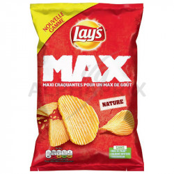 Chips max craquante nature lay's 145g