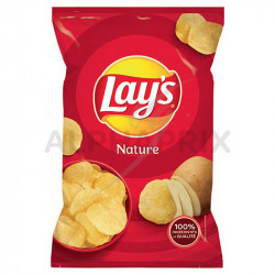 Chips nature sel lay's 145g en stock