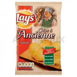 Chips à l'ancienne sel lay's 45g