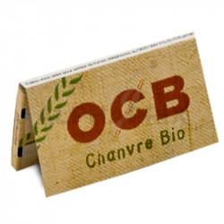 OCB Chanvre Bio par 200 cahiers en stock