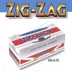 Tubes zig zag par 4 boîtes de 250 en stock