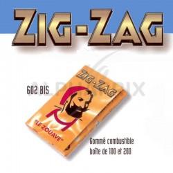Zig-zag 602 bis jaune 200 cahiers x 100 en stock