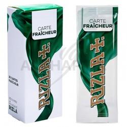 ~Cartes Aromatiques Rizla menthe en stock