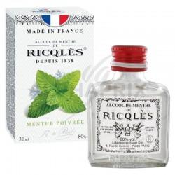 Ricqles alcool de menthe flacon de poche - unité de 30ml en stock