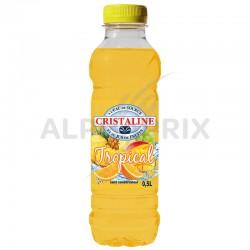 Cristaline tropical (4x6) Pet 50 cl en stock