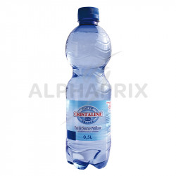 Cristaline eau gazeuse Pet 50 cl