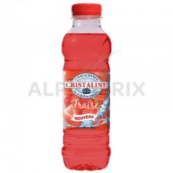 Cristaline fraise (4x6) Pet 50 cl en stock
