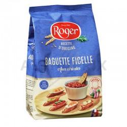 Baguettes ficelles aux cereales 150g en stock
