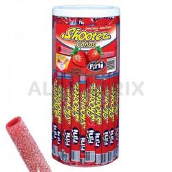Shooter pailles fraise acidulées pièces en stock