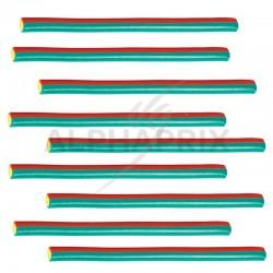 Maxi cables lisses energy rouge blanc bleu Fini en stock