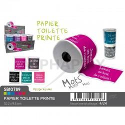 Papier toilette avec message rigolo en set de 2 en stock