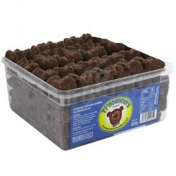Oursons guimauve chocolat lait bac 600g en stock