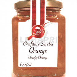 Confiture Orange (50%) 400 grs en stock