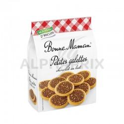 Petites Galettes chocolat lait Bonne Maman 250g en stock