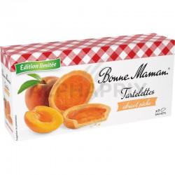 Tartelettes pêche abricot 135g Bonne Maman