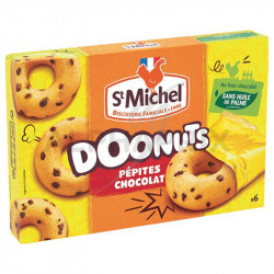 Doonuts pépites chocolat 180g St Michel en stock