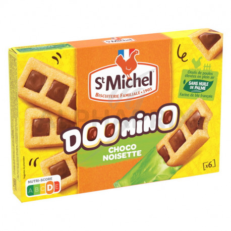 Doomino Chocolat Noisettes 180g St Michel