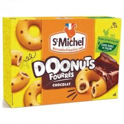 Doonuts fourrés chocolat 180g St Michel en stock
