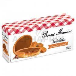 Tartelettes chocolat lait caramel 135g Bonne Maman en stock