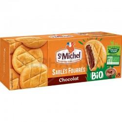 Sablés fourrés chocolat Bio 135g St Michel