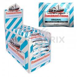 Fisherman's friend bleu - eucalyptus menthol s/sucres en stock