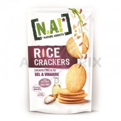 N.A! Rice crakers sel et vinaigre 70g en stock