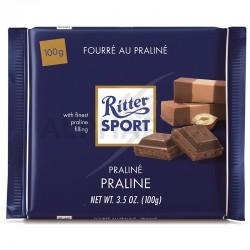 Ritter Sport fourré praliné 100g en stock