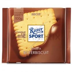 Ritter Sport biscuit 100g en stock